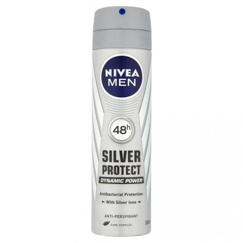 NIVEA DEO SPRAY 150ML MEN SILVER PROTECT