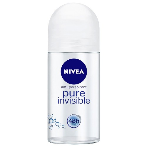 NIVEA ROLLON ΑΠΟΣΜΗΤΙΚΟ 50ML  PURE INVISIBLE 6 TEMAXIA